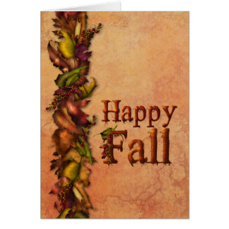 Autumn Splendour Card