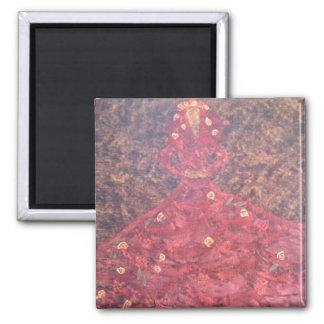 Autumn Square Magnet
