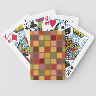 Autumn Squared Bicycle Playing Cards