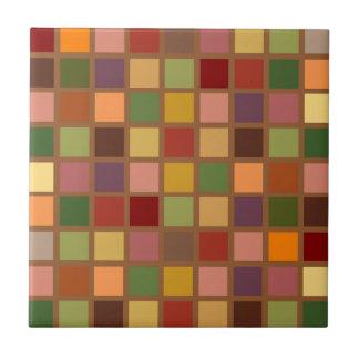 Autumn Squared Ceramic Tile