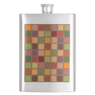 Autumn Squared Hip Flask