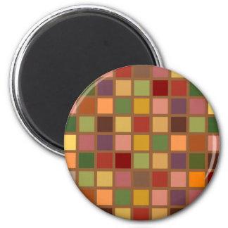 Autumn Squared Magnet