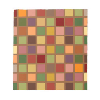 Autumn Squared Notepad