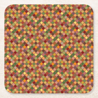 Autumn Squared Square Paper Coaster