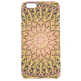 Autumn Star Mandala Clear iPhone 6 Plus Case