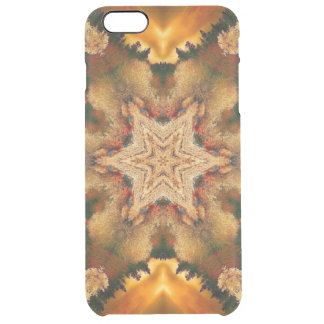 Autumn Stars Mandala Clear iPhone 6 Plus Case