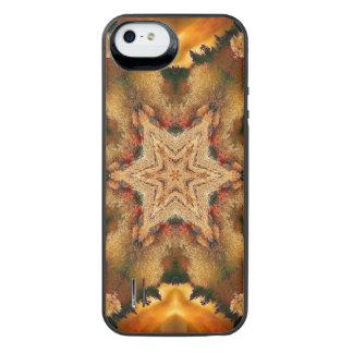 Autumn Stars Mandala iPhone SE/5/5s Battery Case