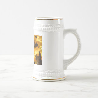 Autumn Steins Golden Yellow Fall Tree Leaves Coffee Mug