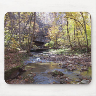 Autumn Stream Mousepad