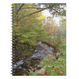 Autumn Stream notebook