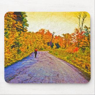 Autumn Stroll Mousepad