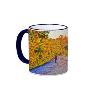 Autumn Stroll Coffee Mugs