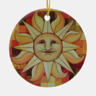 Autumn Sun Ornament