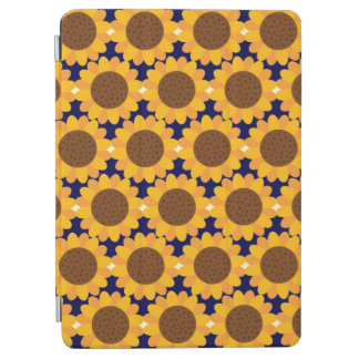 Autumn Sunflower Pattern iPad Air Cover