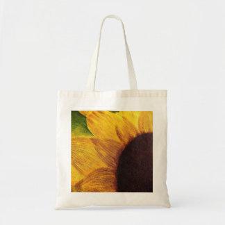 Autumn sunflower tote bag
