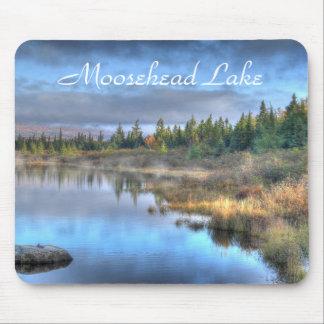 Autumn Sunrise at Moosehead Lake Maine Mouse Pad
