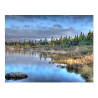Autumn Sunrise at Moosehead Lake Maine Postcard
