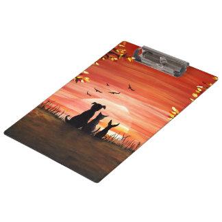 Autumn Sunset Clipboard