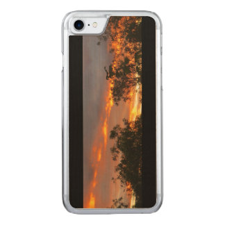 Autumn Sunset in Canberra Carved iPhone 7 Case