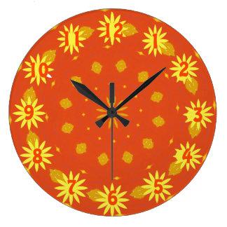 Autumn Sunshine Clock