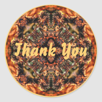 Autumn:  Thank You Sticker