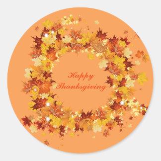Autumn Thanksgiving Stickers