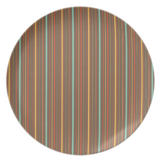 Autumn Theme Patterns Plates