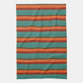 Autumn Theme Patterns Tea Towel