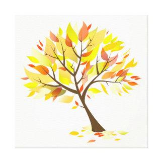Autumn Theme Tree [24x24] inches Canvas Print