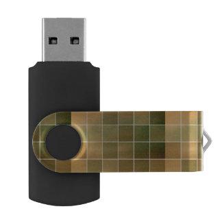 Autumn tiles USB flash drive