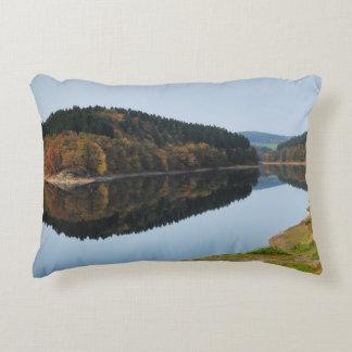 Autumn to the Aggertalsperre Decorative Cushion