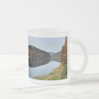 Autumn to the Aggertalsperre Frosted Glass Coffee Mug