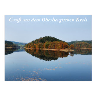 Autumn to the Aggertalsperre Postcard