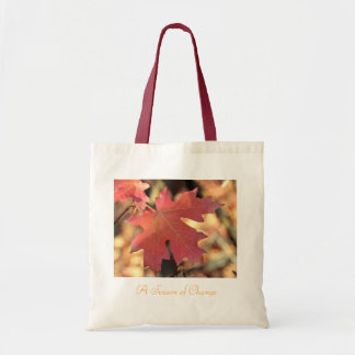 Autumn Tote Bay Canvas Bag