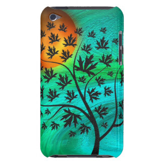 Autumn Tree and Harvest Moon iPod Touch Cover