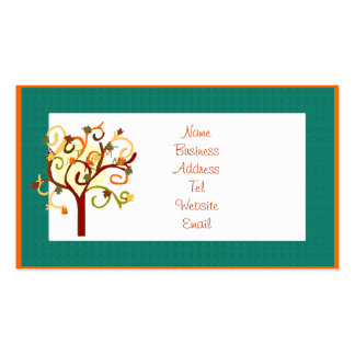 Autumn Tree Business card