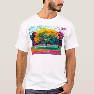 Autumn tree in vivid colors T-Shirt