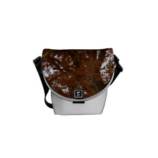 Autumn Tree Leaves Sky View Photo Courier Bag