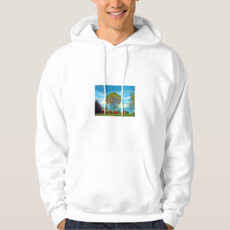Autumn Tree Painting Sweatshirt