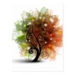 Autumn Tree Postcards