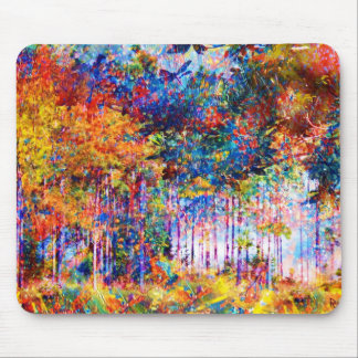 Autumn Trees Mousepad