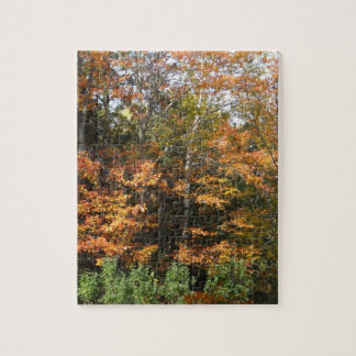 Autumn Trees-Puzzle Week Jigsaw Puzzle