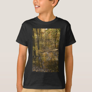 AUTUMN TREES STANDING IN WATER T-Shirt