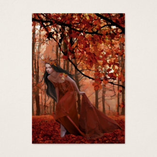 Autumn Tryst Gift Tag