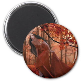 Autumn Tryst Magnet