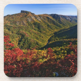 Autumn view of Linville Gorge often called the Coaster