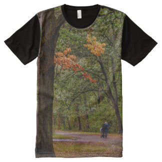 Autumn walk All-Over print T-Shirt