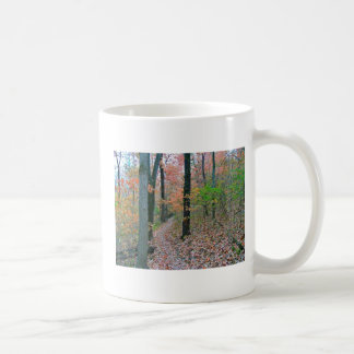 Autumn Was Meant For Hiking Classic White Coffee Mug