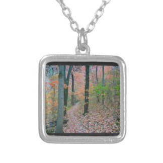 Autumn Was Meant For Hiking Pendant
