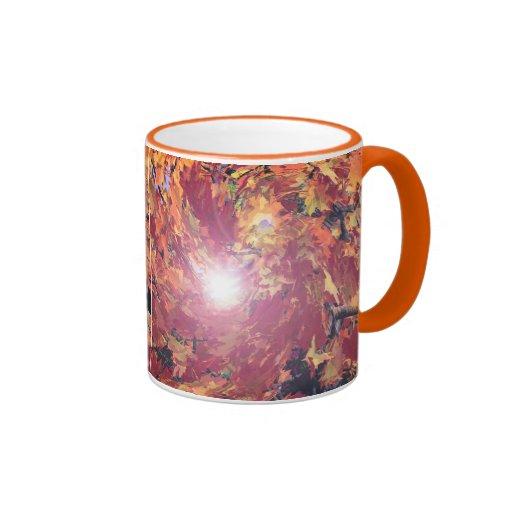 Autumn Whirl Mugs
